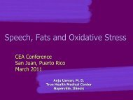 Speech, Fats, and Oxidative Stress - Curando el Autismo