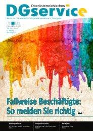 DGservice Magazin Nr. 2 2013 - Dienstgeber - OÖGKK