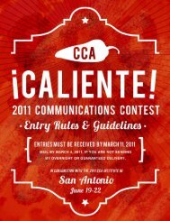 Submitting Entries - Cooperative Communicators Association