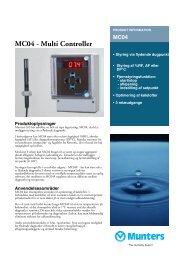 MC04 - Munters A/S