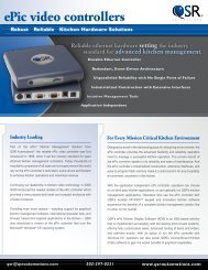 ePic video controller - Abacus Business Solutions