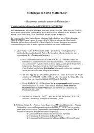 Médiathèque de SAINT MARCELLIN - Associations - Pays Sud ...