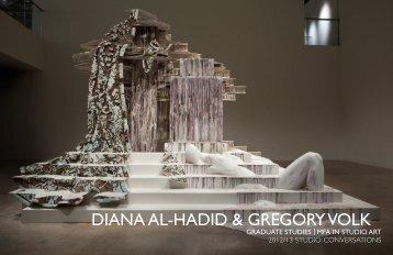 diana al-hadid & gregory volk - Moore College of Art and Design