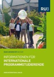 Informationen für Austauschstudierende - International - Ruhr ...