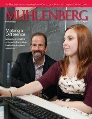 SEPTEMBER 21, 2012 - Muhlenberg College