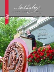Muhlenberg Magazine Spring 2007 - Muhlenberg College