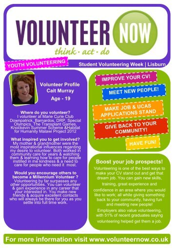 Lisburn - Volunteer Now