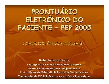 Roberto Luiz D'Avila - CFM - SBIS