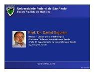 Prof. Dr. Daniel Sigulem - SBIS