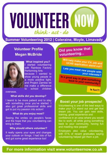 Summer - Causeway2 - Volunteer Now