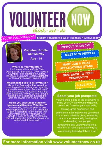 Belfast & Newtownabbey - Volunteer Now