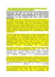 IVD Regionalreport Bayerisches Oberland 2010 - Palazzo am ...