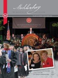 oct 08:fall05 mag - Muhlenberg College
