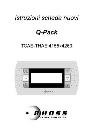 Manuale pCoOEM per QPACK - Rhoss