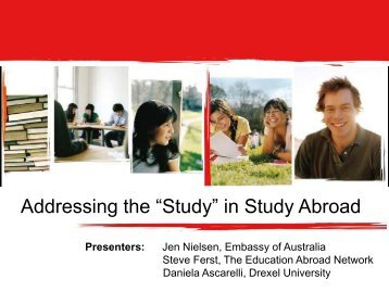 "Addressing the ""Study"" in Study Abroad"