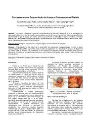 Processamento e Segmentação de Imagens Colposcópicas ... - SBIS