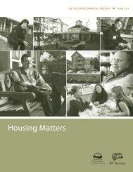Housing Matters - BC Housing