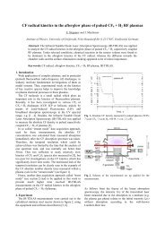 CF radical kinetics in the afterglow phase of pulsed CF4 + H2 RF ...