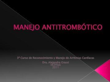 Anticoagulación en Fibrilación Auricular - cardiomil.com.uy