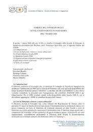 Verbale del 7 marzo 2008 (pdf) - Scuola di Dottorato in Ingegneria