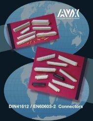DIN Connectors - AVX