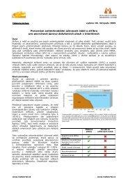 Porovnání antimikrobiální účinnosti mědi a stříbra pro ... - MedPortal