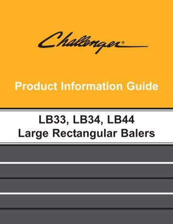 features and benefits lb33, lb34, lb44 large ... - Kelly Tractor