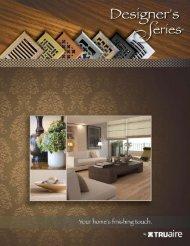 download our online pdf catalog - Truaire.com
