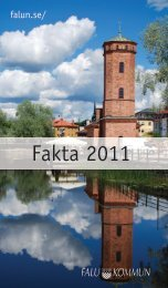 Fakta 2011 - Falu Kommun