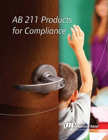 AB 211 Products for Compliance - Security Technologies