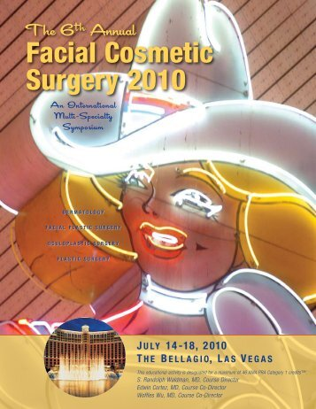 Annual Facial Cosmetic Surgery 2010 - Multi-Specialty Foundation