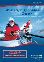 Marinas Liegeplätze Werften - Mecklenburg-Vorpommern maritim