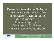 Desenvolvimento de Sistema Computacional para auxílio na ... - SBIS