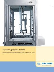 Handhabungsmodul H 100 - Multivac
