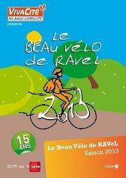 Le Beau Vélo de RAVeL Saison 2013