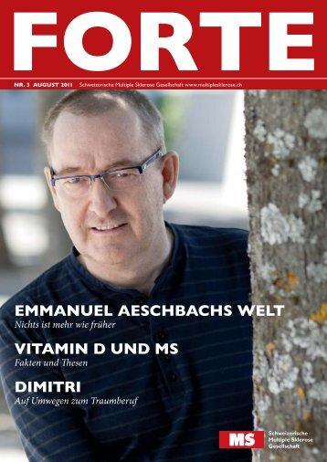 emmanuel aeschbachs - Schweizerische Multiple Sklerose ...