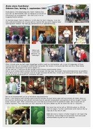 Årets store Familietur Odense Zoo, lørdag 1. september 2007