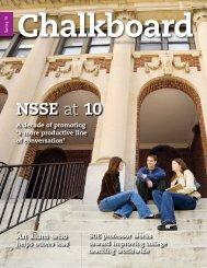 Chalkboard Spring 2010 - School of Education - Indiana University