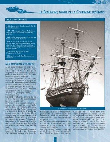 [fr] Le Beaumont, navire de la Compagnie des Indes - Musées en ...