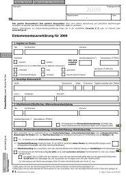 2009 - Formulare - Bundesministerium für Finanzen