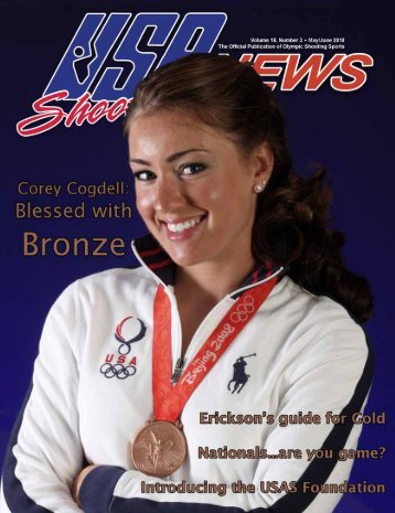 May/June 2010: Volume 18, Number 3 - USA Shooting