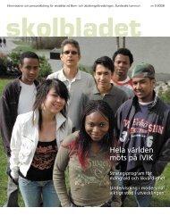 skolbladet 2.06.indd - Sundsvall