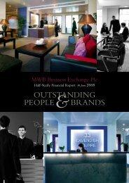 Interim Report - 6 months 30 June 2008 - MWB Business Exchange