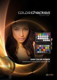 Color Checker Passport Brochure - X-Rite