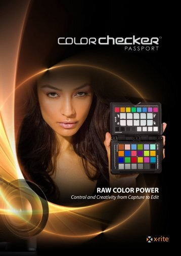 Color Checker Passport Brochure - X-Rite