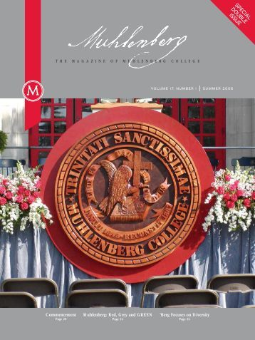 SPECIAL DOUBLE ISSUE - Muhlenberg College