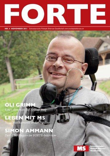 leben mit ms - Schweizerische Multiple Sklerose Gesellschaft
