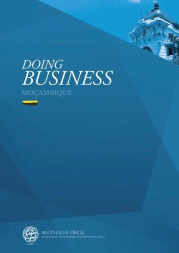Doing Business Moçambique - Mozambique Legal Circle Advogados