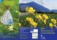 Naturschutz_Landscha.. - Zentrum für Umwelt und Kultur ...