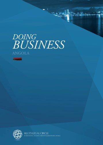 Doing Business Angola - Morais Leitão, Galvão Teles, Soares da ...
